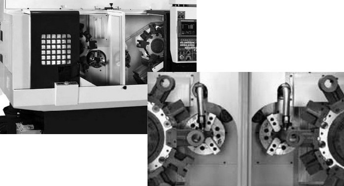 Twin Spindle CNC production